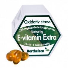 Vitamina E (puternic), 200 mg, Tocoferoli amestecati, ridicat in d-gamma tocoferol